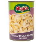 Mayor sliced Mushrooms
